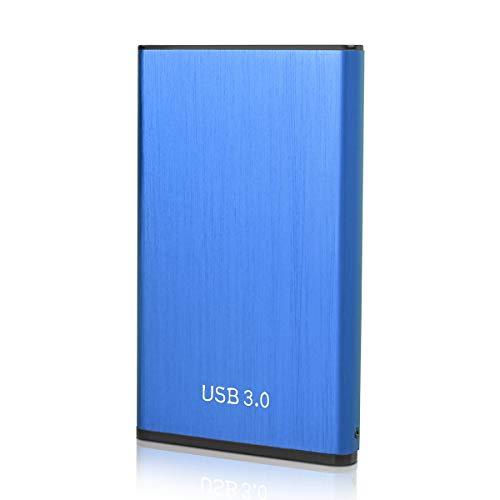 Hard Disk Esterno 2tb Portatile USB3.0 SATA HDD Storage per PC, Mac, Desktop, Laptop, MacBook, Chromebook
