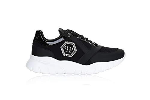 PHILIPP PLEIN 0979 Sneaker B Damen Women's Shoes, Schwarz - schwarz - Größe: 41 EU
