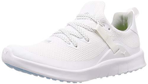 Puma Mädchen Laguna Sport Golfschuhe, Weiß White White 01, 35.5 EU