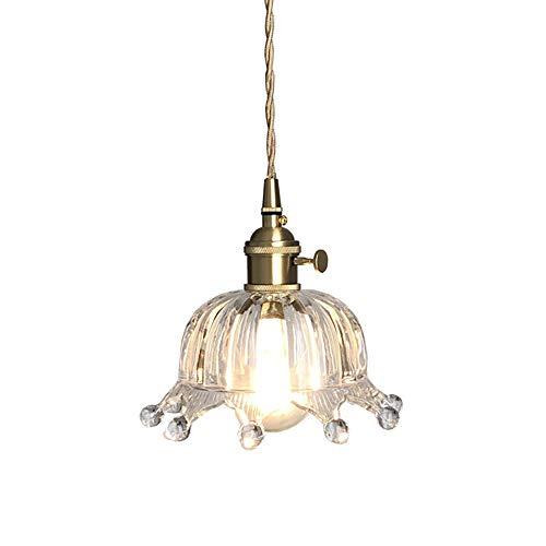 HGCF Araña de Cristal, lámpara de Comedor Colgante nórdico, Simple y Fresca, Sala de niños, Auxiliar, pórtico, lámpara de Techo, lámpara de Techo de latón