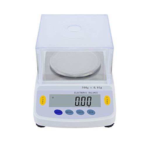 AFDK 1000G / 0.01g Experimentelle Waagen Elektronische Analysenwaage, LCD-Display Digitaler Präzisions-Industrie Elektronische Waage,600g / 0.01g