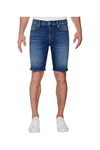 Calvin Klein Jeans Slim Short, Bleu (DA032 Mid Blue 1A4), 29W Homme