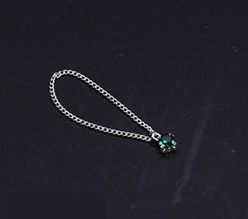 Kleding Model 1/6 Vrouwelijke Ketting Groene Kristallen Sieraden Hanger 12