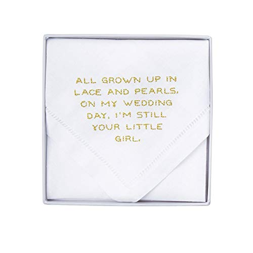 Mud Pie Your Girl Wedding Handkerchief