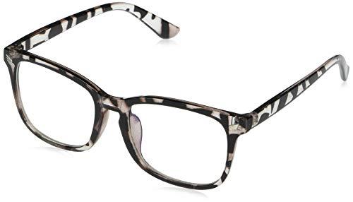 Amazon Essentials Unisex Blue Light & UV400 Blocking Glasses, Non Prescription