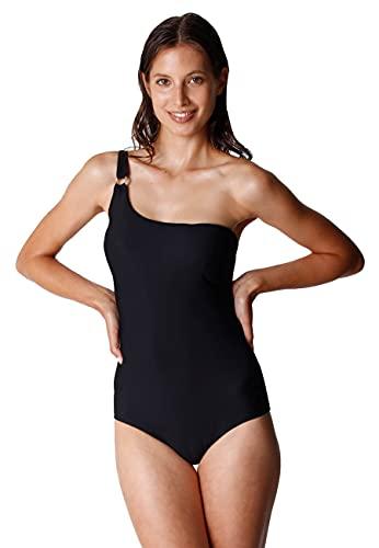 costume da bagno donna lovable Lovable Plain Recycled Costume Intero in Microfibra Riciclata Donna