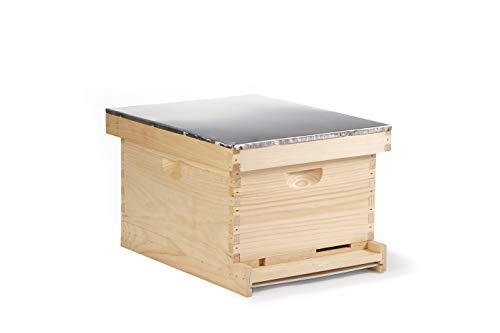 Little Giant 10-Frame Complete Hive Complete Beehive with Frames for Beekeeping (Item No. HIVE10)
