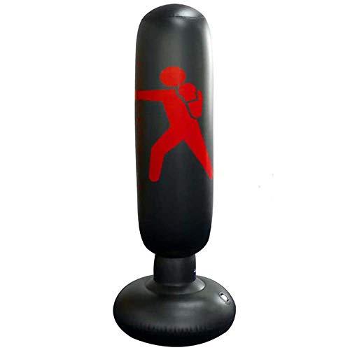 Ecent Sacco da Boxe Gonfiabile Sacco da Boxe autoportante Esercizio Fitness Giocattoli di decompressione per Bambini Adulti, Karate, Fitness, ECC. - 160cm