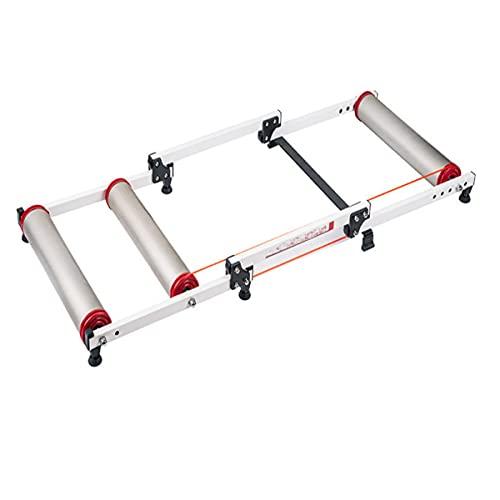 Rodillo de Entrenamiento Plegable, Rodillo de Bicicleta magnético portátil para Ejercicio en Interiores/Fitness/Ejercicio, Adecuado para Viajes