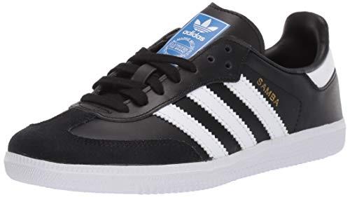 adidas Originals Kids Unisex's Samba OG Sneaker, core Black/FTWR White/FTWR White, 3 M US Big Kid
