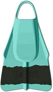 DaFin Swim Fins and Sizes (Black/Jade Vissla 4.0, Medium)