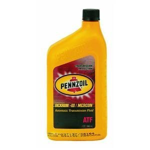 Pennzoil Automatic Transmission Fluid Approved By Gm For Dexron Iii &Ford For Mercon, Allisonc-4 Qt.