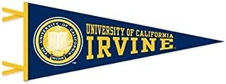 UIC University CA Irvine College Pennant - Wool Felt Blue Yellow 12 x 30