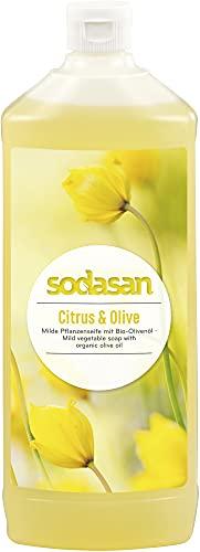 Sodasan Bio LIQUID Citrus & Olive (2 x 1000 ml)