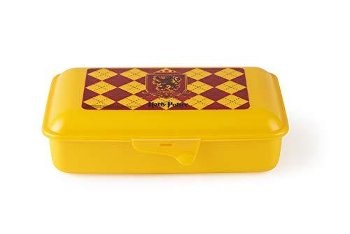 Excelsa Harry Potter Lunchbox Gryffindor, Naranja, 23x 13cm
