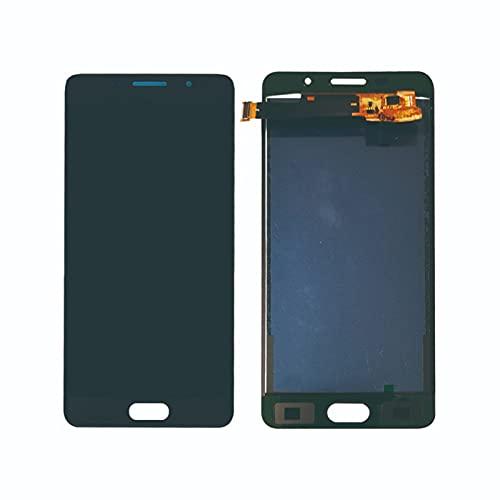 Newwiee LCD de 5,2 `` Fit for Samsung A5 2016 A510 Pantalla A510F A510M SM-A510F A510FD A510Y Montaje de digitalizador con Pantalla táctil digitalizador de Pantalla LCD(Color:White)