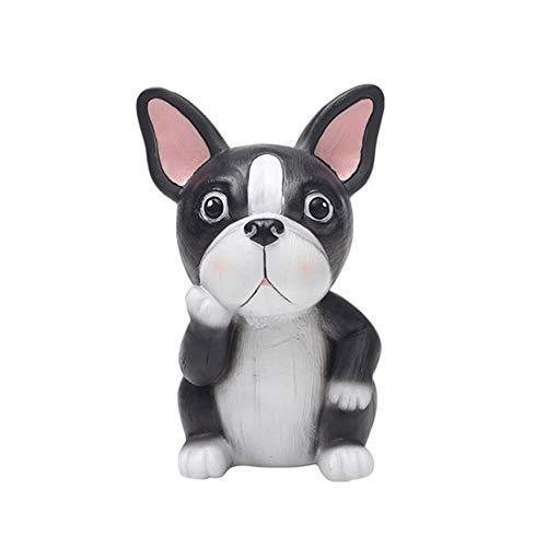 1PC Harz Brillenhalter Bulldog Entwurfs-handgemachte Gläser Ständer Home Office Schreibtisch Dekor Tier Brille Halter