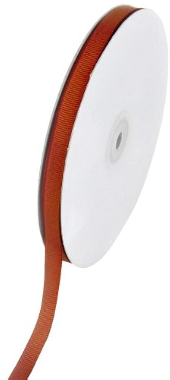 Creative Ideas Solid 3/8-Inch Grosgrain Ribbon, 50-Yard, Rust