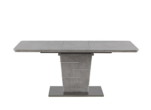 Milan Janice Concrete Grey Dining Table