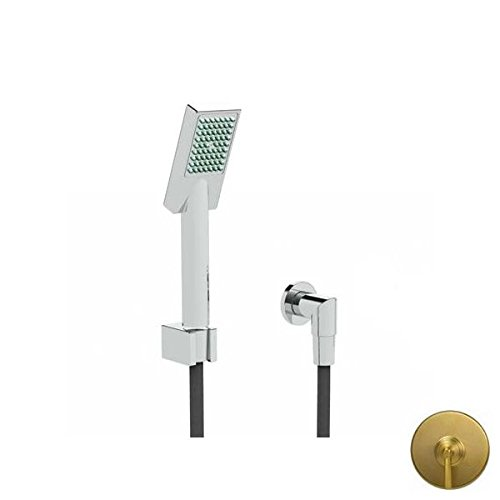 Affordable Newport Brass 280J/04 Keaton Handshower Set with Single Spray Function, Satin Brass