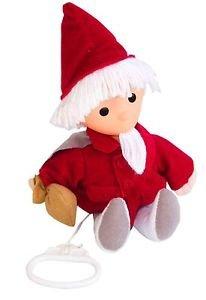 Sandmann-Puppe mit Spieluhr 20cm / 25 cm Sandmannpuppe rot Sandmannchen 664401