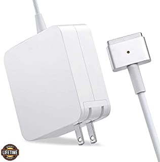 Mac Book Air Charger, Great Replacement 45W Magsafe 2 Magnetic T-Tip Power Adapter Charger for Mac Book Air 11-inch and 13-inch (Mid 2012 or Later)(45T) … (45T)