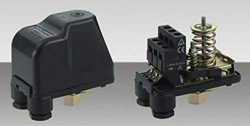 IBO / CHM Gartenpumpe Kreiselpumpe MHI2200 INOX + Druckschalter mit Manometer - Leistung: 2200W - Spannung: 230 V / 50 Hz 10800 L/h - 180l/min. Max. Druck 6 bar. Laufräder aus Edelstahl. - 4