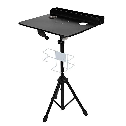 Portable Tattoo Workstation, Detachable Tattoo Mobile Work Station Stand PortableHeight Adjustable Tattoo Colapsable Tray Desk Table