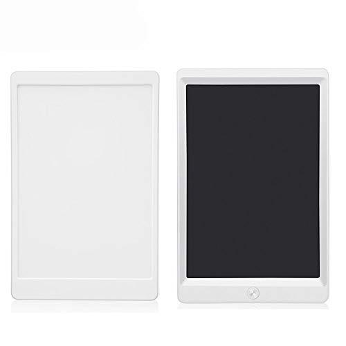 KDXBCAYKI 8,5 inch Business LCD Markering Tablet LCD Licht Elektronische Tablet Schrijven Board Kinderen Graffiti Schilderen Kleine Blackboard Whiteboard Pens Kleur: wit