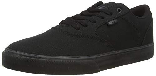 Etnies Herren Blitz Skateboardschuhe, Schwarz (Black/Black/Black-Red 004), 43 EU