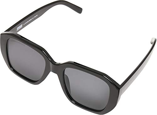Urban Classics Unisex 113 Sunglasses UC Sonnenbrille, black/black, one size