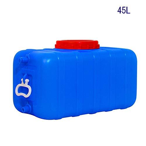 Guoda Wasserkanister  Lebensmittelqualität   Mit Auslasswasserventil   Tragbar   Mehrzweck   Blau