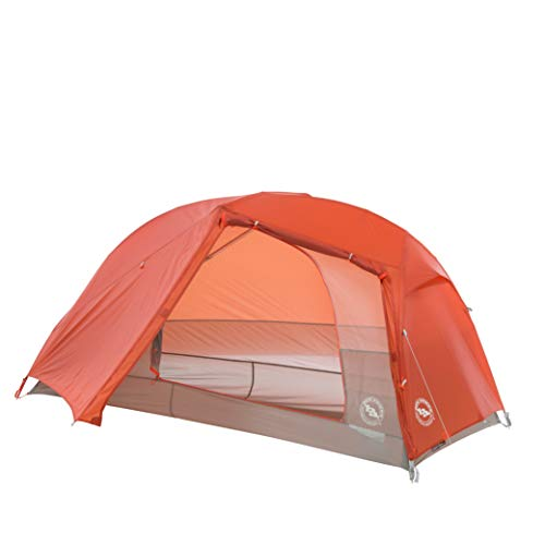 Big Agnes Copper Spur HV UL Backpacking Tent, 1 Person (Orange)