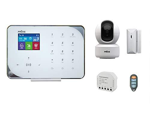 PROXE - Kit Smart Home Alarm, Sistema de Seguridad doméstica inalámbrico, Sistema de Alarma Completo