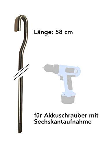 Ebeling *** Markisenkurbel kurz für Akkuschrauber ***elektrisch elektromechanisch Markise