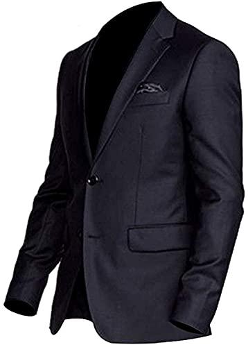 John Wick Suit | John Wick Chapter 3 Parabellum Keanu Reeves Combinaison 3 pièces pour homme Noir, Manteau noir., L