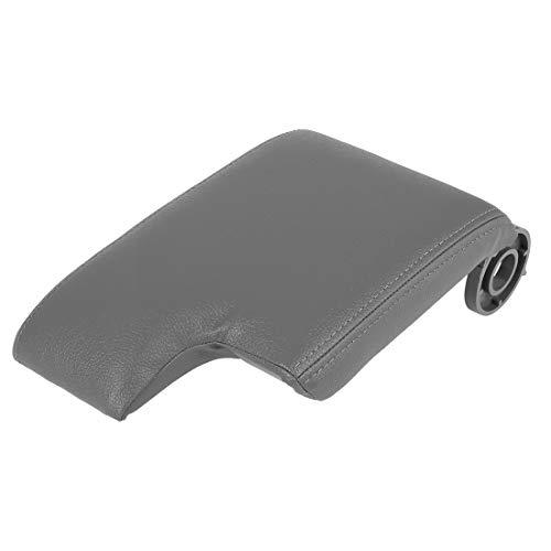 X AUTOHAUX Car Center Console Box Cover Armrest Replacement Gray for BMW M3 2001-2006