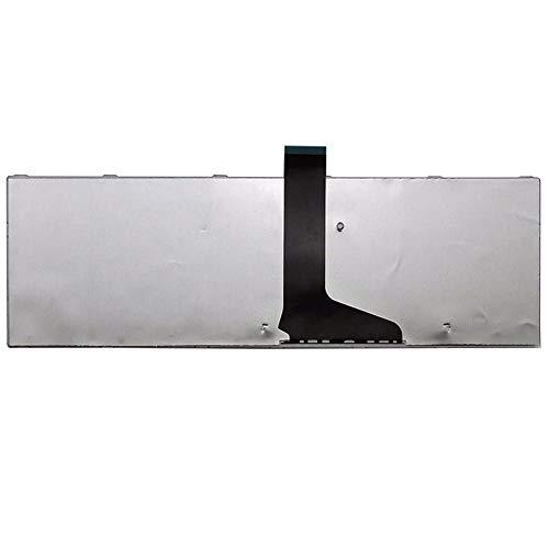 Shentesel Laptop US Keyboard for Toshiba Satellite C850 C850D C855 C855D L850 L850D L855