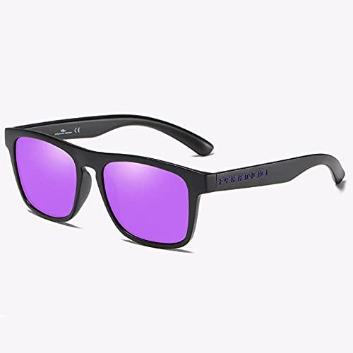 WQZYY&ASDCD Gafas de Sol Gafas De Sol Polarizadas para Hombre De Alta Moda Gafas De Sol Clásicas Cuadradas Deportivas Uv400 Gafas para Exteriores-C03