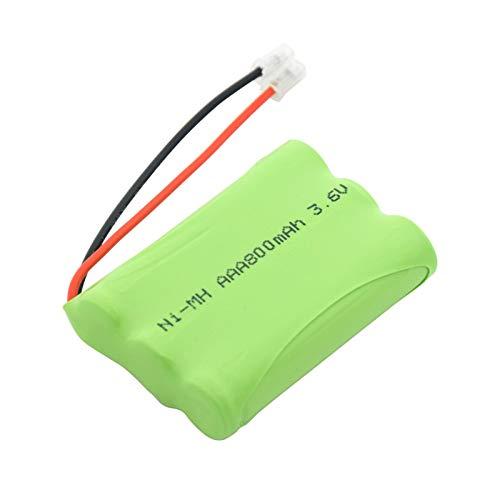 MGLQSB Batería AAA Ni-Mh De 3.6v 800mah, Paquetes De BateríAs Recargables del Conector del Grupo del Paquete