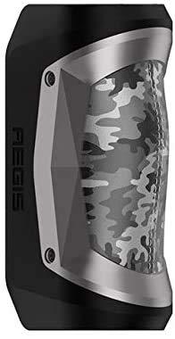 Geekvape Aegis Mini 80W TC Box MOD Built-in 2200mAh Batteria Impermeabile antiurto e antipolvere per lunga durata 100% originale Mod(Camo & GunMetal)