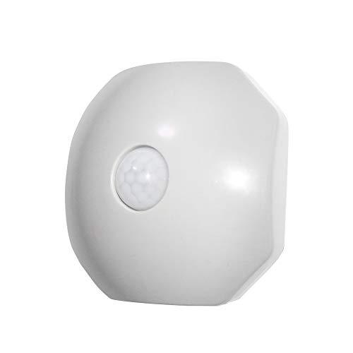 Tidyard Intelligente LED-Induktionslampe achteckiges Sensor-Nachtlicht-Bett-Nachttischlampe für Schlafzimmerflur
