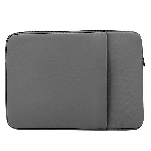 15 Inch Laptop Sleeve Case, Laptop Bag, Magazine Pen File PC Tablet for Phone Book for Laptop Notebook(gray)