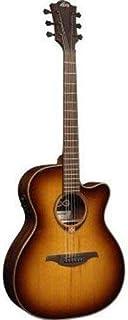 LAG - Guitarra Lag Dreadnought Tramontane 118 Cutaway Brown Shadow - GLAT118DCE-BRS