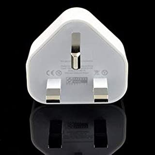 White UAE Plug USB Wall Charger AC Power Adapter for iPhone 3G 3GS 4G iPod Touch 3 flat-pin