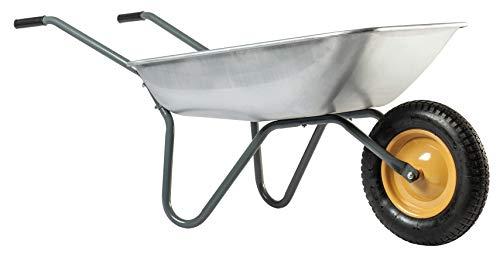 HAEMMERLIN Qualität Gartenkarre Schubkarre Schiebkarre 80 Liter Luftrad