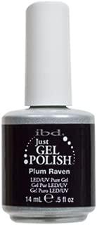 (3 Pack) ibd Just Gel Polish - Plum Raven