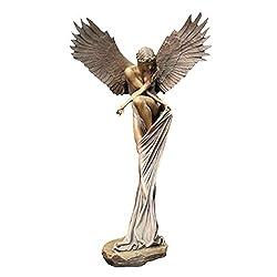 Heilsengel Harz Kreative Skulptur Dekor Innovative Engel Dekoration Ornamente 10 x 17 x 24 cm