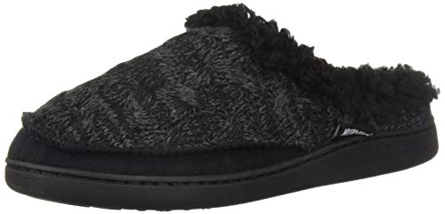 MUK LUKS Women's Aileen Clog Slippers Black