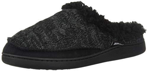 MUK LUKS Women's Aileen Clog Slippers Black